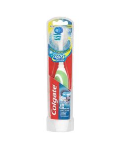 Colgate 360 Medium Battery Toothbrush