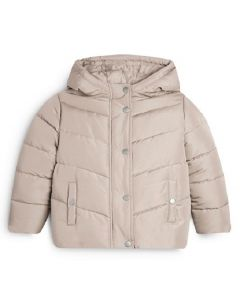 Primark Kids' Padded Coat Cream 1.5-8yrs 15pk