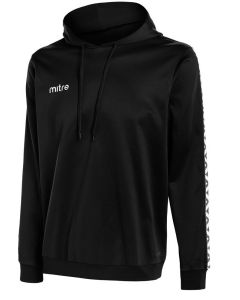 """Mitre Delta Youth Poly Hoody Black Large 30/32"""""""