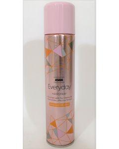 Asda Everyday Hairspray Long Lasting Hold 6x300ml