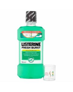 Listerine Fresh Burst Mouthwash 6 × 500ml