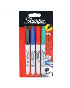 Sharpie Permanent Marker Pens 12 × 4pk