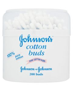 Johnson's Baby Cotton Buds 6 × 200pk