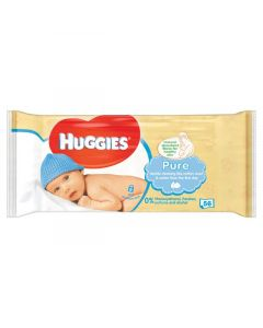 Huggies Pure Baby Wipes 10 × 56pk