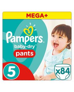 Pampers Baby Dry Pants Size 5 84pk