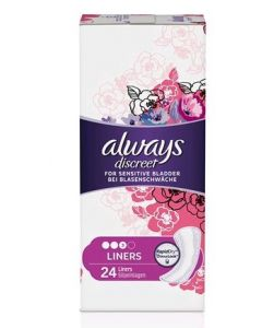 Always Discreet Normal Pantyliners 4 x 24pk