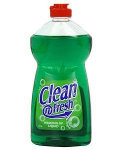 Clean n Fresh Washing Up Liquid 12 x 500ml