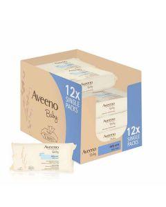 Aveeno Baby Wipes 12 × 72pk