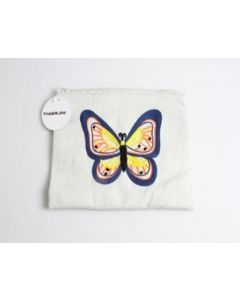 Tiger Cloth Bag with Butterfly Design 90pk