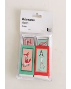 Tiger Stickers in a Matchbox 36pk