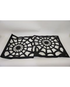 Tiger Black Felt Table Runner 12pk