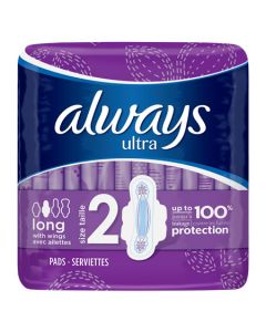 Always Ultra Long with Wings Size 2 3x32pk