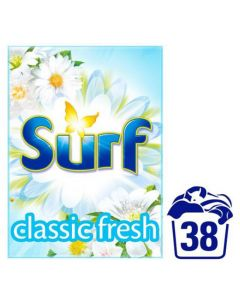 Surf White Powder Classic Fresh 38 Wash 2.66Kg