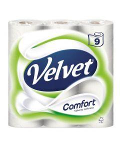 Velvet Comfort White Toilet Rolls 45pk