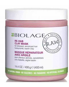 Biolage RAW ReHab Clay Mask 400g x 6pk