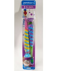 Asda Protect Kids Toothbrush 3-6yrs 9 x 2pk