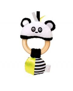 Manhattan Toy Squeaker Panda Clutching Toy 4pk