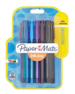 Papermate Inkjoy Assorted Ballpoint Pens 6 x 18pk