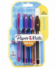 Papermate Inkjoy Ballpoint Pen Mix 12 x  8pk