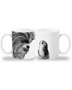 Chewbacca & Porg 20oz Mug 6pk