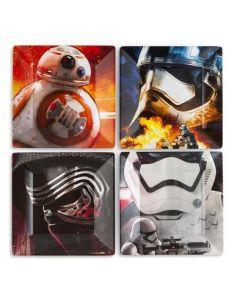 Star Wars Melamine Plates 6x4pk