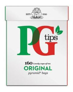 PG Tips Pyramid Bags 160 x 8pk