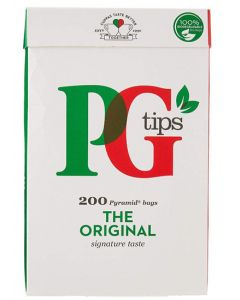 PG Tips Pyramid Bags 200 x 8pk