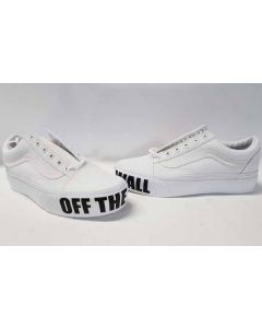 Vans Unisex Old Skool Platform Off the Wall EU38