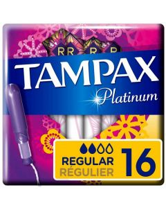Tampax Platinum Regular 18 x 16pk