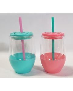 Tiger Mug with Straw & Lid 24pk
