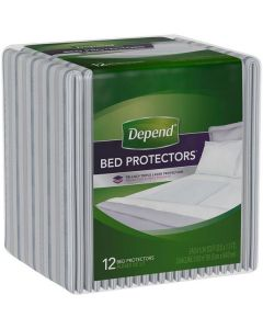 Depend Bed Protector 2 x 12pk
