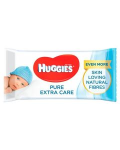 Huggies Pure Extra Care Baby Wipes 8x56pk