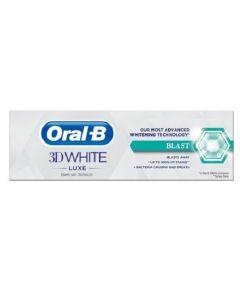 Oral-B 3D White Luxe Blast Toothpaste 75mlx12pk