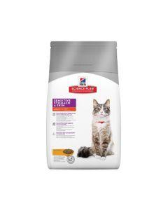 Hills Science Plan Cat Sensitive 1+yr 6x1.5kg