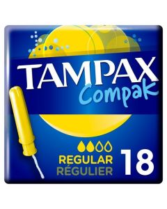Tampax Compak Regular 6x18pk