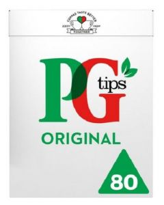 PG Tips Pyramid Teabags 12 x 80pk
