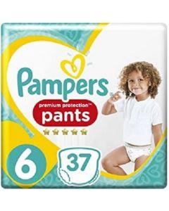 Pampers Prem Protection Nappy Pants Size 6 2x37pk