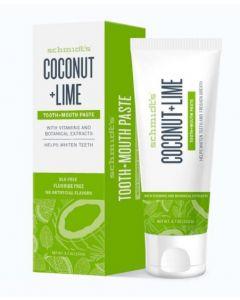 Schmidt's Coconut&Lime Toothpaste 24 x 100ml