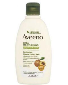 Aveeno Yogurt Body Wash Apricot & Honey 6x300ml