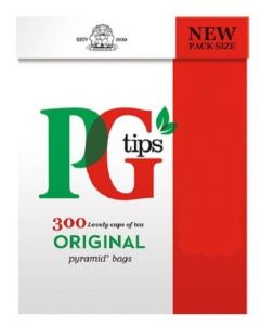 PG Tips Pyramid Bags 4x300pk - see date