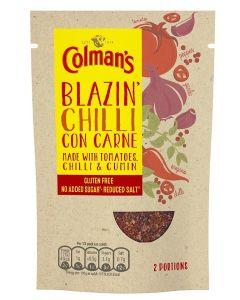 Colman's Blazin' Chilli Con Carne 7x27g - See BBE