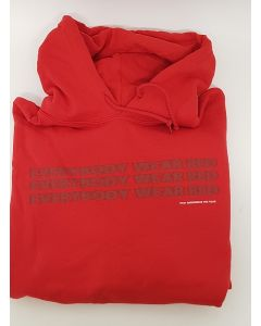 YG Stay Dangerous Tour Red Hoodie Medium