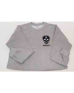 Halsey  Badlands Tour Skull Sweatshirt Grey Medium