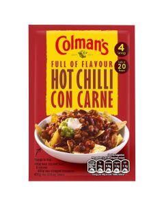 Colman's Hot Chilli Con Carne 16x37g