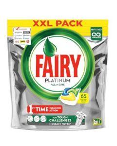 Fairy Platinum All inOne Dishwasher Caps  3x65pk