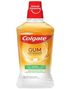 Colgate Gum Invigorate Detox Mouthwash 6 x 500ml