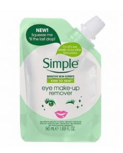 Simple Mini Eye Make Up Remover 12 x 50ml