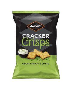 Jacobs Cracker Crisps Sour Ceram & Chive 15x150g