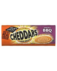 Jacob's Cheddars Smoky BBQ 21x150g
