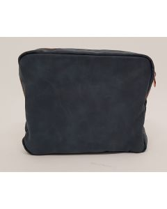 Mens Face the Day Suede Effect Wash Bag 80pk